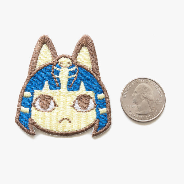 Ankha Animal Crossing Embroidered Patch (Homemade)