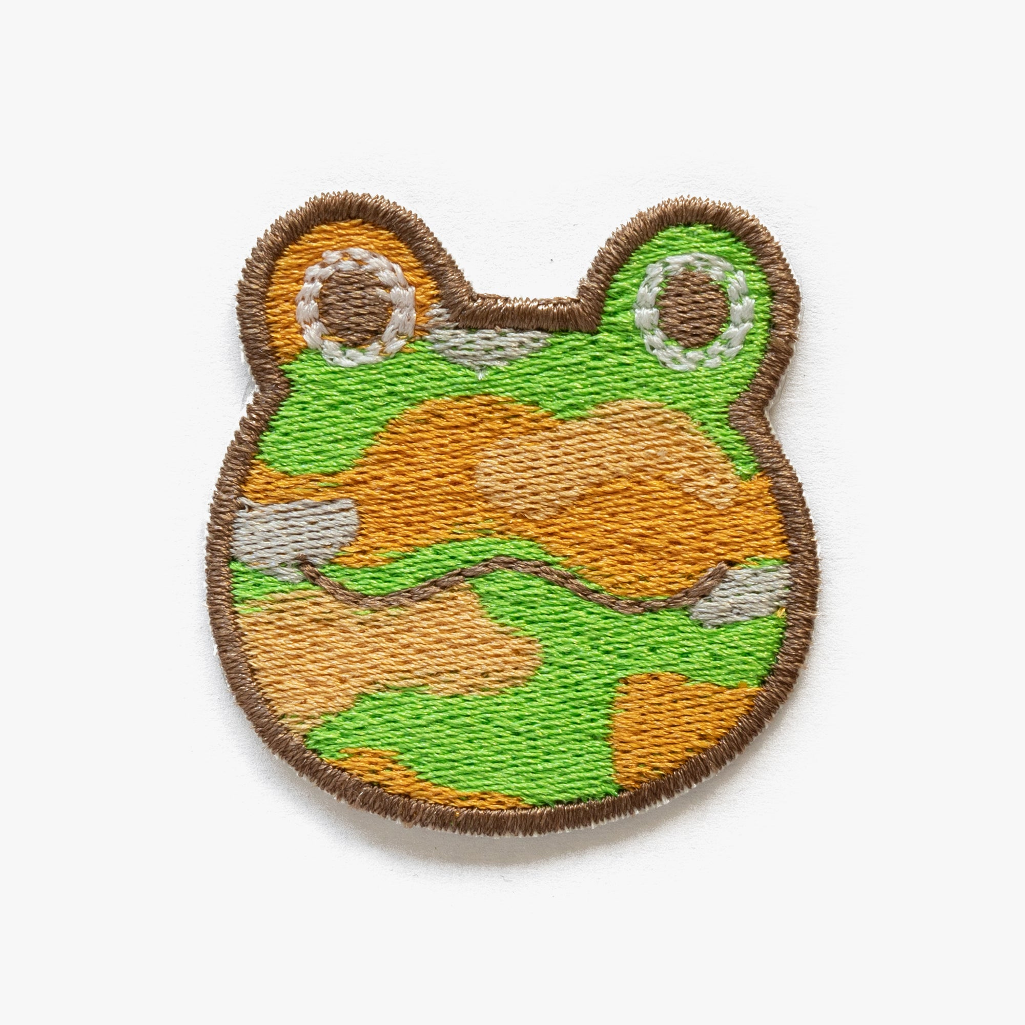 Camofrog Animal Crossing Embroidered Patch (Homemade)