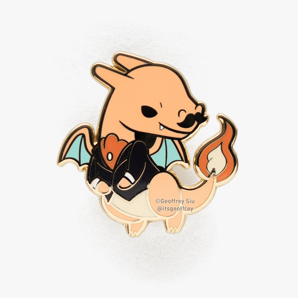 Charizard Hard Enamel Pin