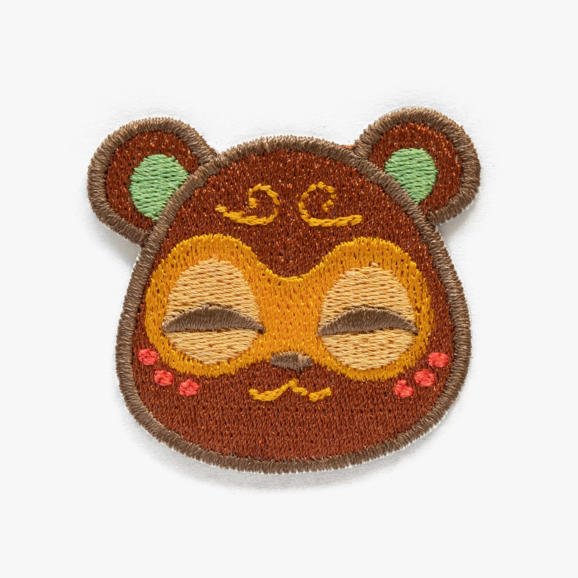 Clay Animal Crossing Embroidered Patch (Homemade)