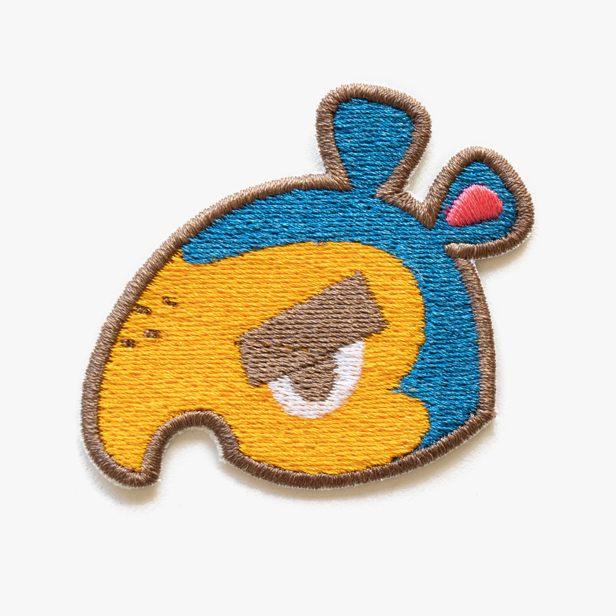 Cyrano Animal Crossing Embroidered Patch (Homemade)