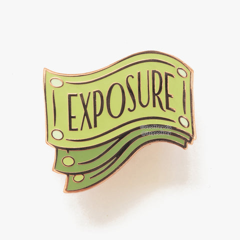 Exposure Currency Hard Enamel Pin
