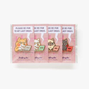 Flooffrey Hard Enamel Pin Set