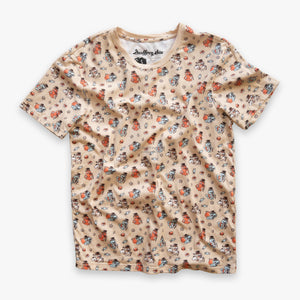 Gentlemon All-Over Print Tee