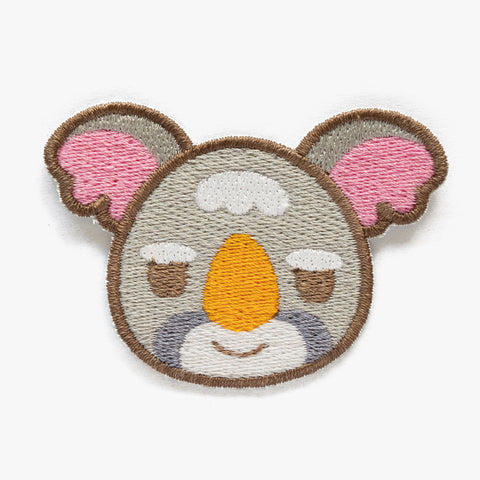 Gonzo Animal Crossing Embroidered Patch (Homemade)