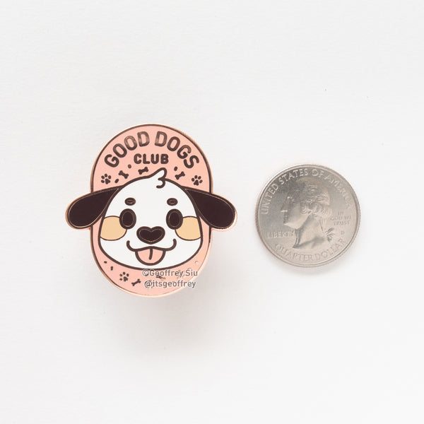 Good Dogs Club Hard Enamel Pin