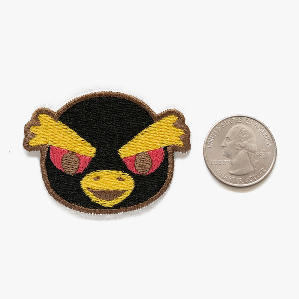 Hopper Animal Crossing Embroidered Patch (Homemade)