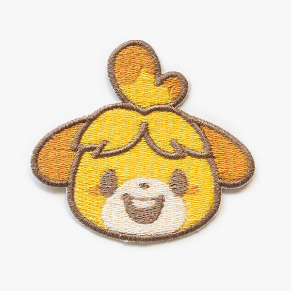 Isabelle Animal Crossing Embroidered Patch (Homemade)