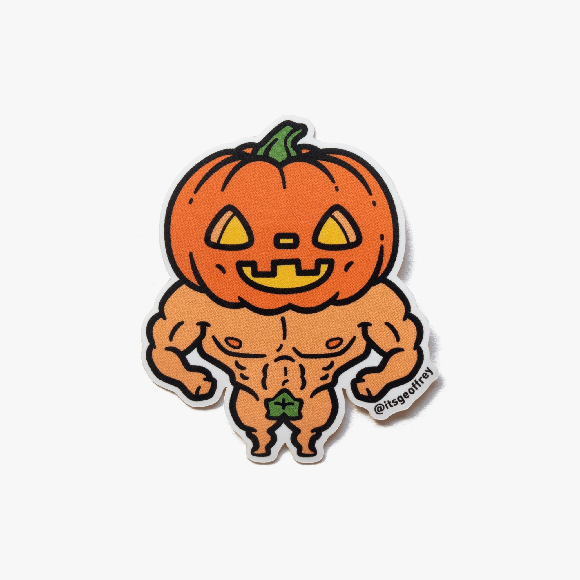 Jacked-o-Lantern Sticker