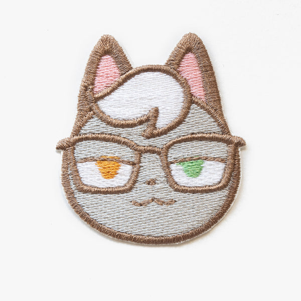 Raymond Animal Crossing Embroidered Patch (Homemade)