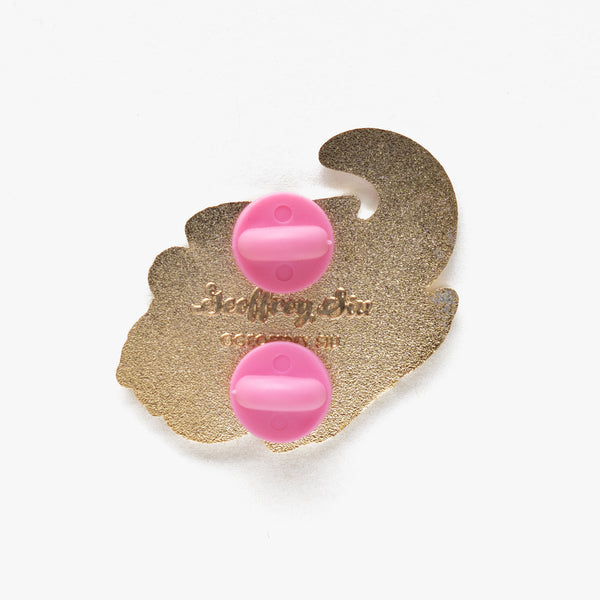 Slowpoke Hard Enamel Pin