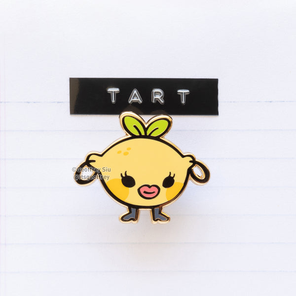 Tart Hard Enamel Pin