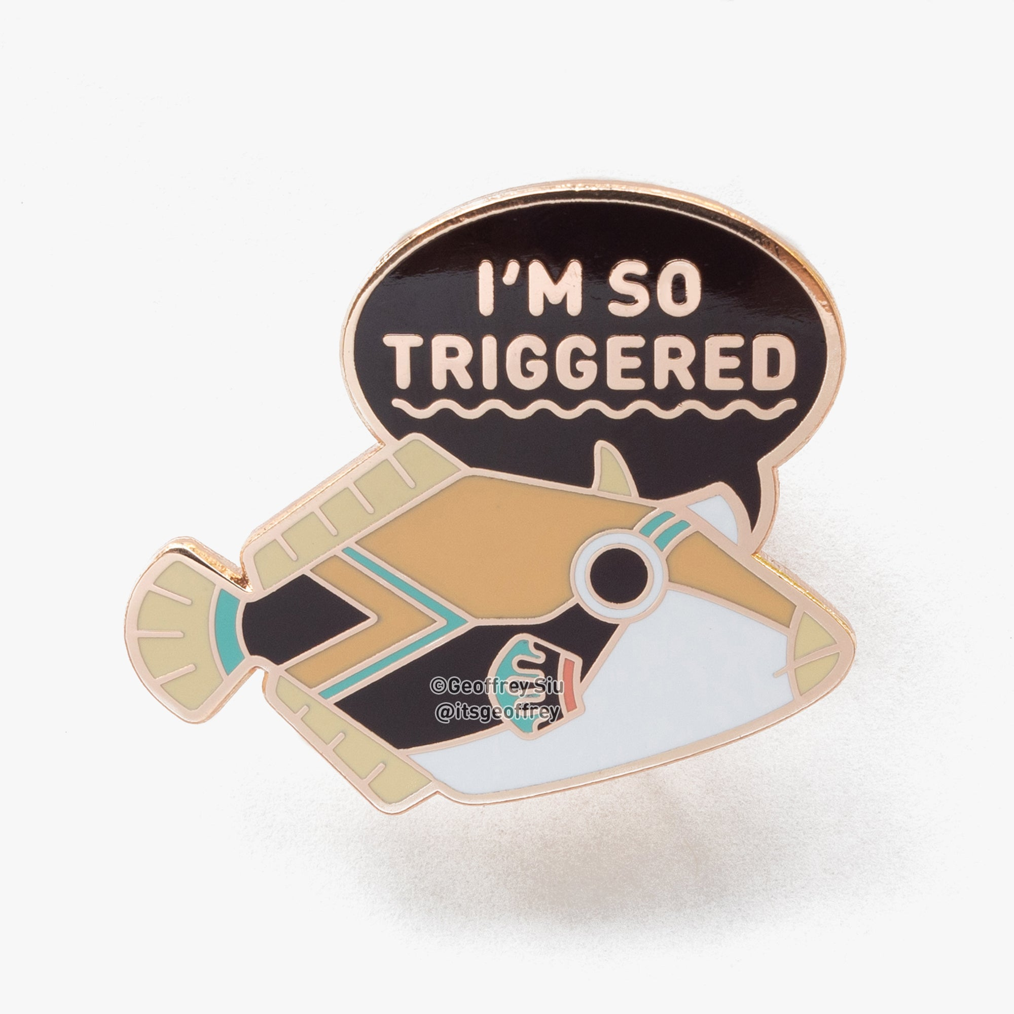 NEW Triggered Fish Pin (Series 3)