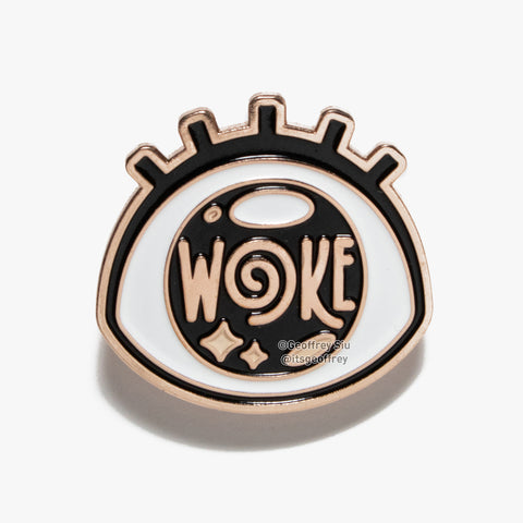 Woke Eye Soft Enamel Pin