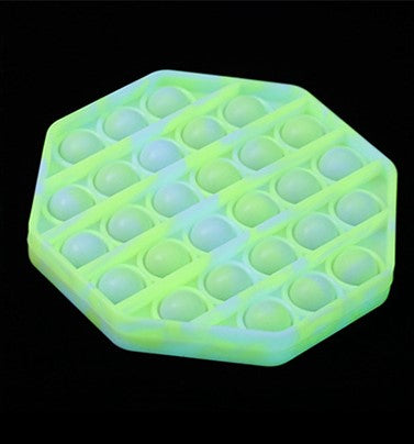 Glow in the Dark Push Pop Bubble Sensory Fidget Toy