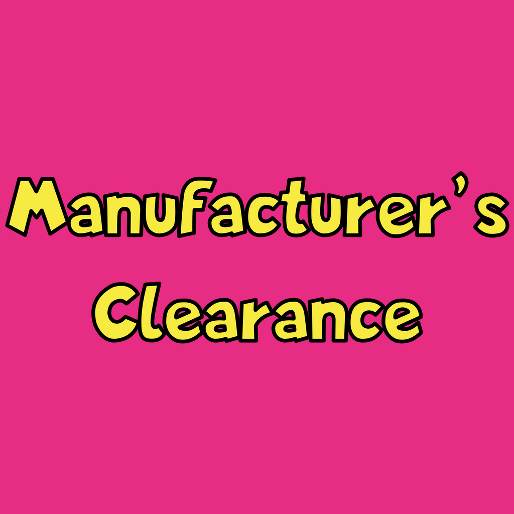Manufacturer's Clearance