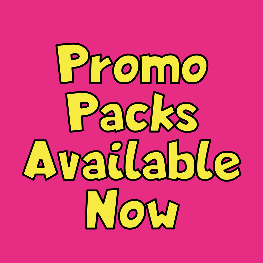Promo Packs - Available Now