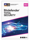 Bitdefender Total Security Multi-Device 10-Devices 1 jaar