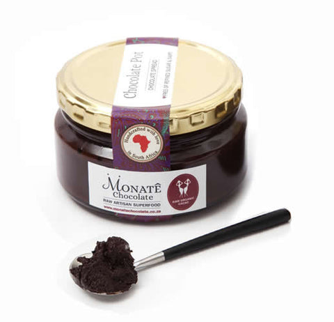 Monate Chocolate Pot ~ a delicious* Raw Chocolate spread