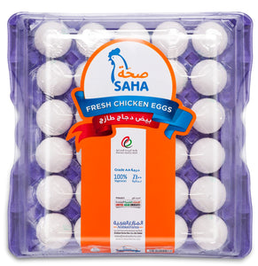 SAHA EGGS MEDIUM WHITE 30s
