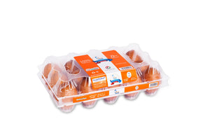 SAHA EGGS LARGE BROWN 15s