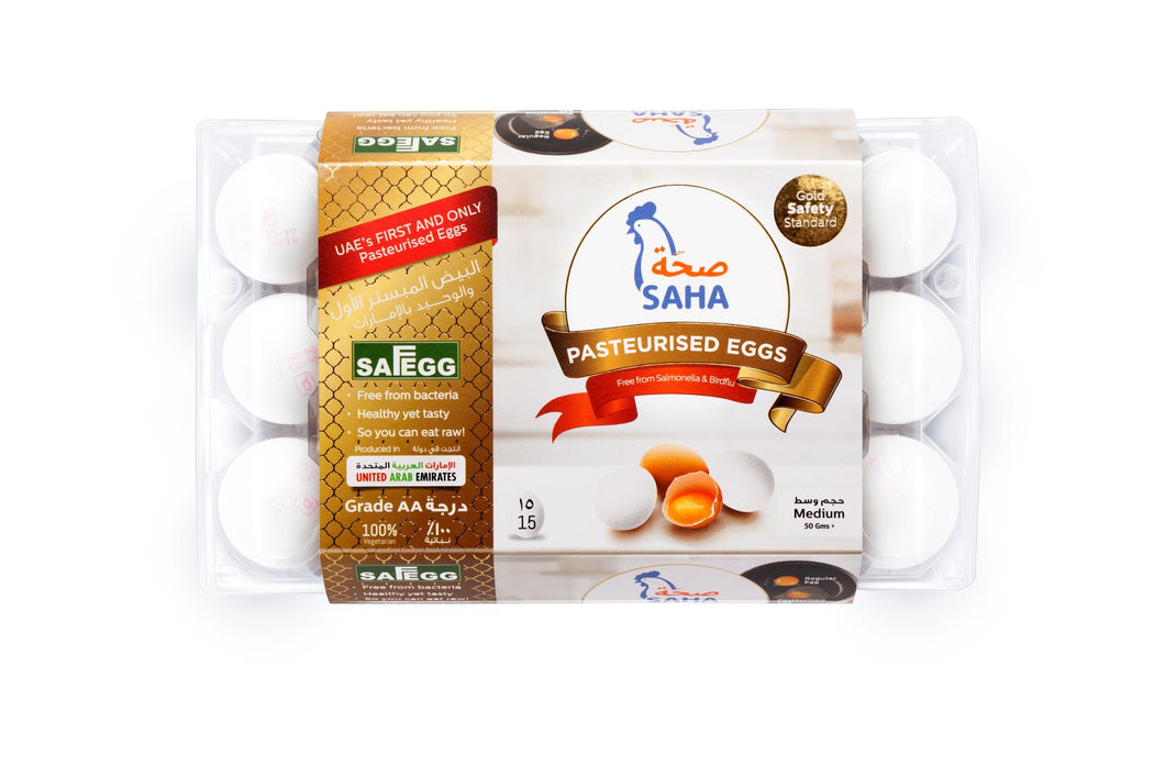 SAHA PASTEURIZED EGGS 15s