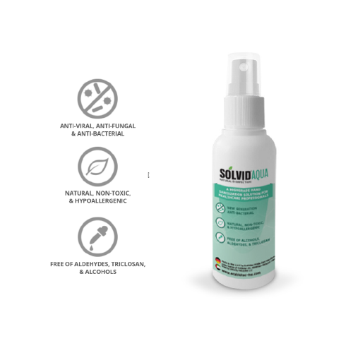 SOLVID® - Aqua - Hand Sanitizing Spray 100 ml