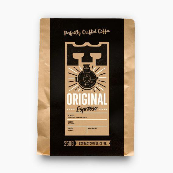 Extract Coffee Original Espresso Blend