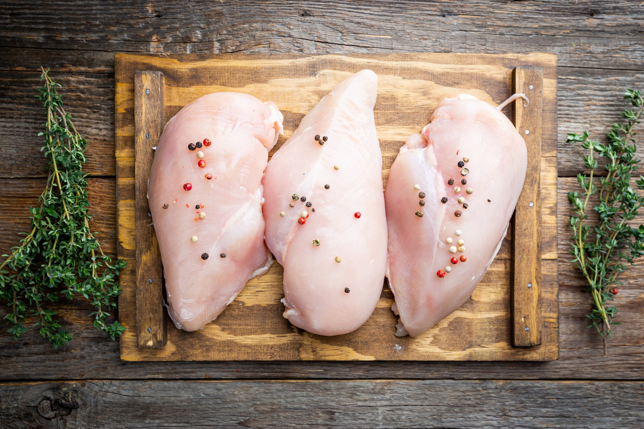 Butcher's Choice Boneless, Skinless Chicken Breast, 10 LB Case, $2.49 per LB