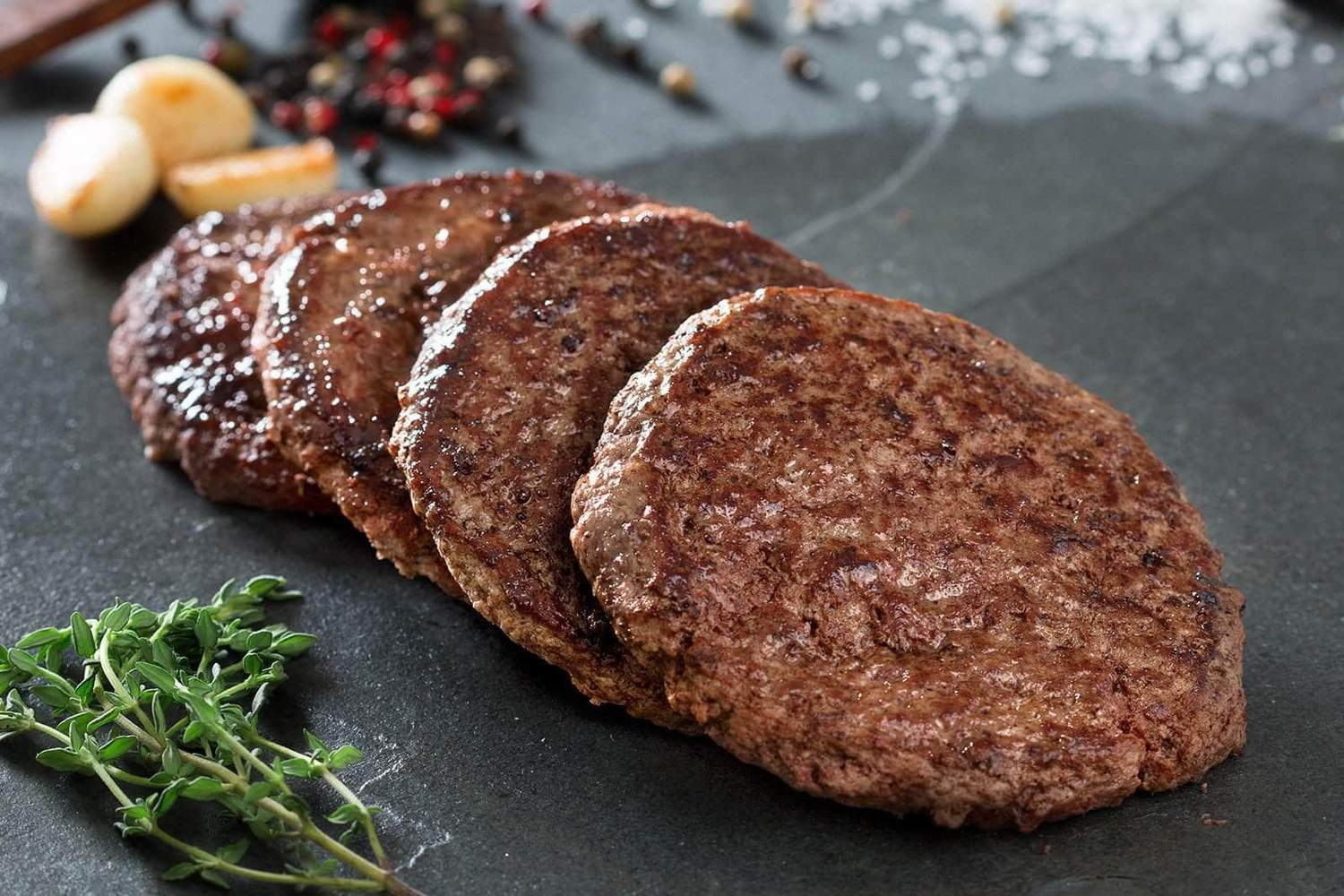 Cooked Sausage Patties, 5 LB Case
