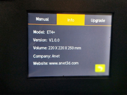 Firmware of ET4+