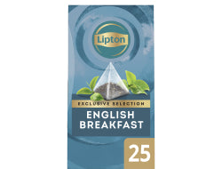 Exclusive Selection English Breakfast zwarte thee 2gr per zakje,doosje 25 zakjes