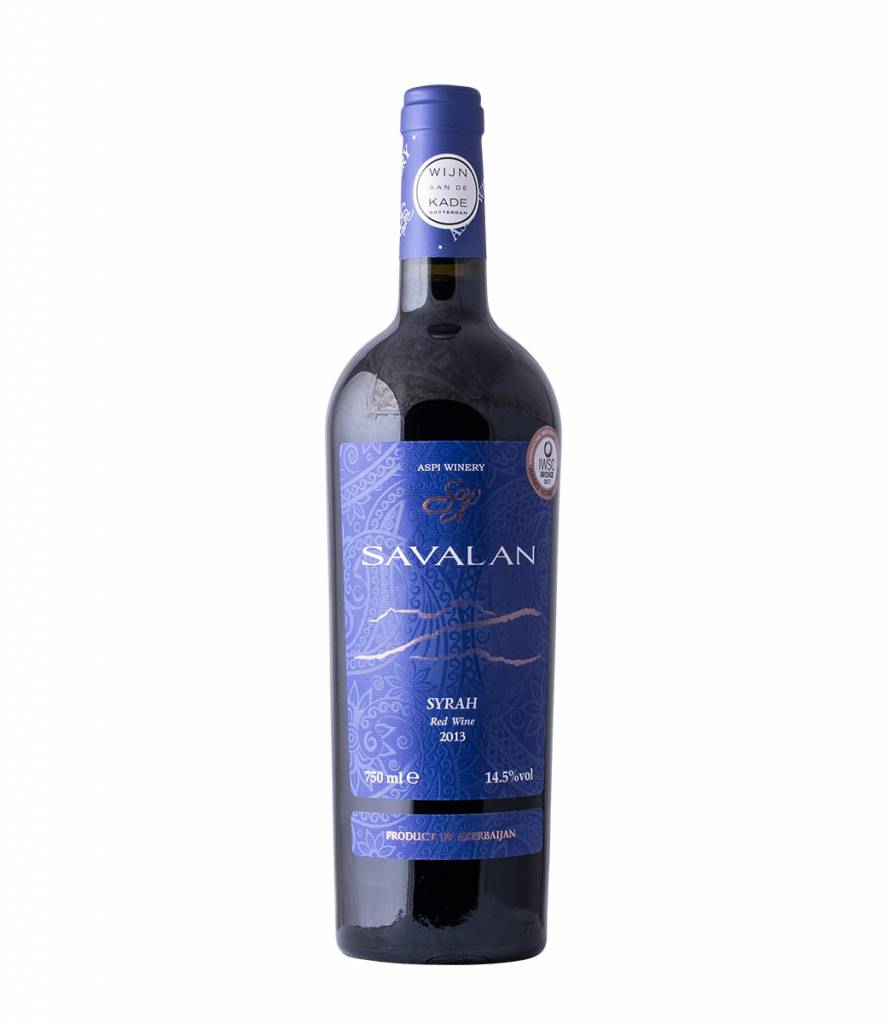 ASPI WINERY 'SAVALAN' SYRAH 2015