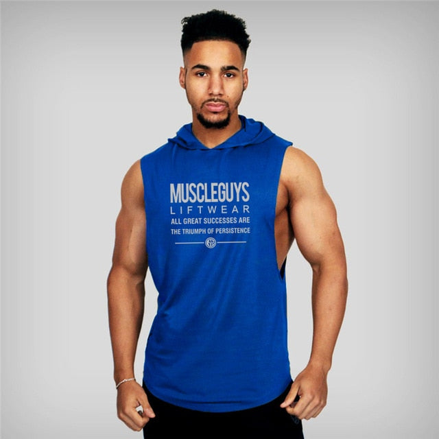 Bold Graphic Muscle Guys Tank