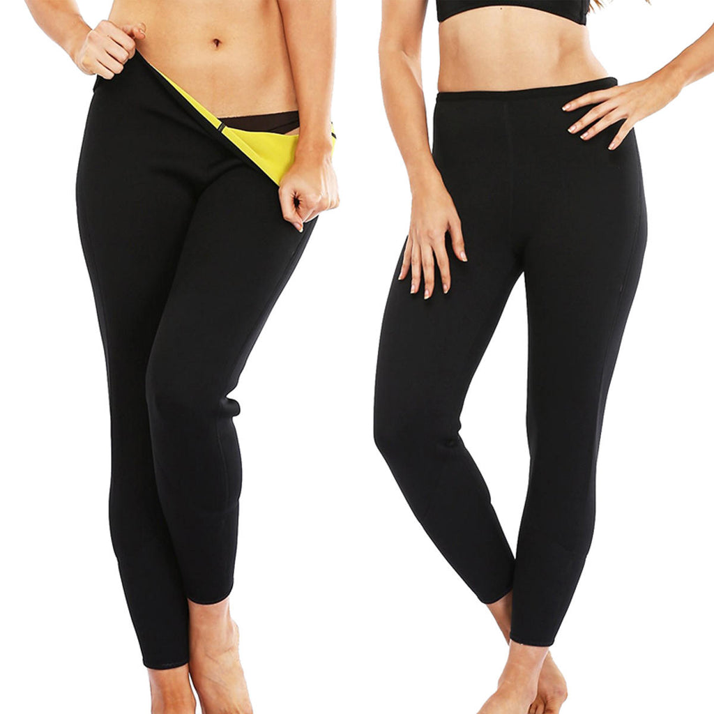 Unisex Neoprene Fashion Hot Sweat Slimming Fitness Pants - LARNELEC