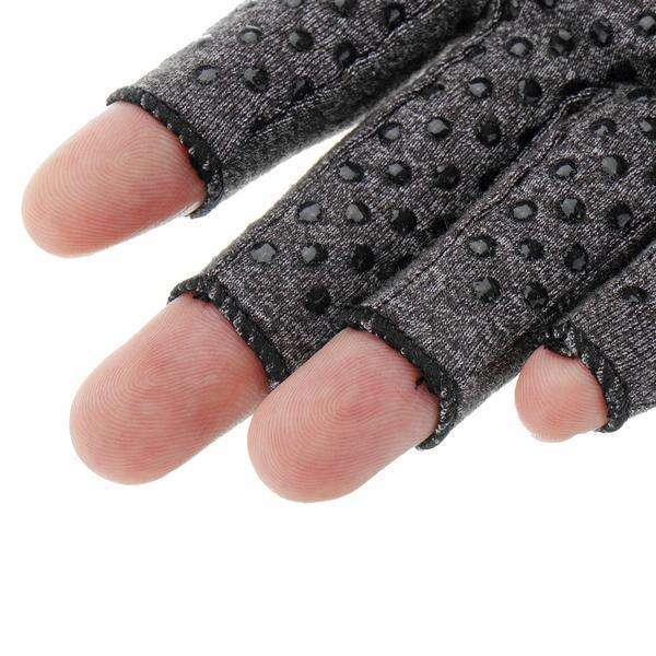 Hand support outdoor fitness half finger gloves-Finger support gloves