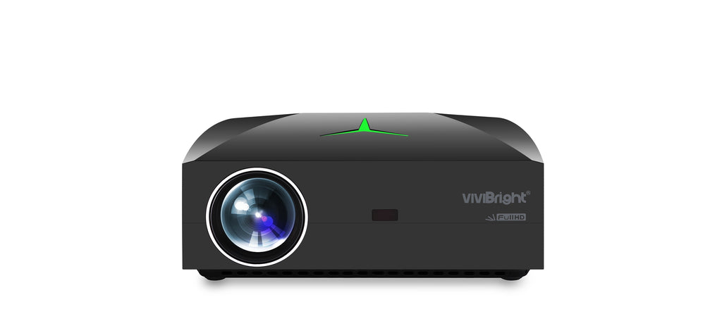 Vivibright F40 LCD + LED Full HD 1920 x 1080P Projector - LARNELEC