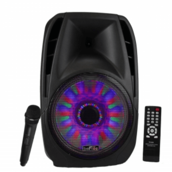 15 Inch Portable Bluetooth Speaker with Water Dancing Lights-BFS-6100 - LARNELEC