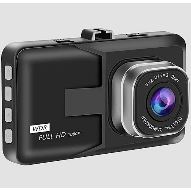 Black Box HD Dash Cam 1080P G-Sensor Looping Car Camera 120° Front Rear Recording - LARNELEC