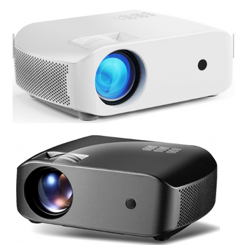 Vivibright F10UP Wifi Android Projector 3800 Lumens LCD Outdoor Video Full HD/USB/LAN Cinema Projector - LARNELEC