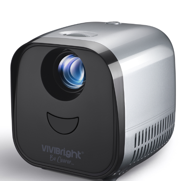 L1 2000 Lumens LCD And LED Mini Home Projector - LARNELEC
