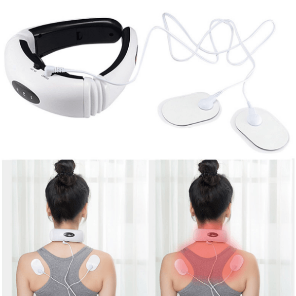Electric Cervical Pulse Neck And Shoulder Massager - LARNELEC