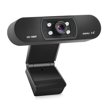 1080P HD Widescreen Video Webcam with Built-In Microphone for Laptop PC-H800 - LARNELEC