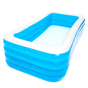 LARNELEC :Family Large 4 Layer Above Ground Eco PVC Inflatable Pool Blow up Swimming Pool-180CMX150CMx72CM,185 x 145 x 72cm,Inflatable Swimming pool