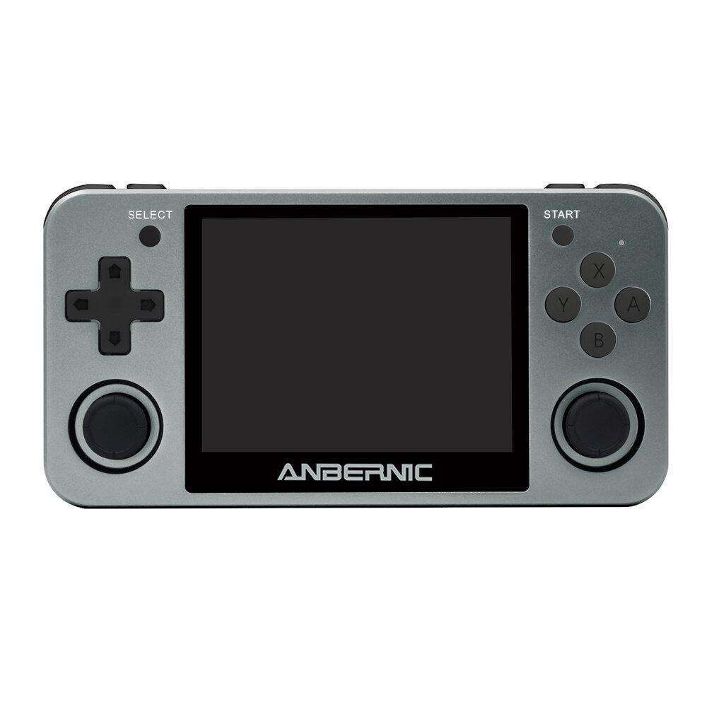 ANBERNIC RG350M 3.5 inch IPS Screen Retro Handheld Video Game Console Player with 16GB 3000 Games - LARNELEC