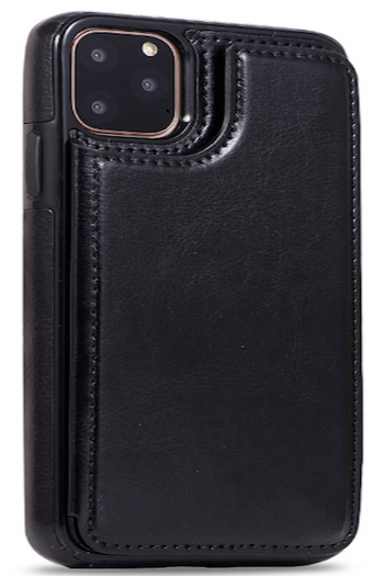 Luxury Slim PU Leather iPhone Case Wallets With Card Slots