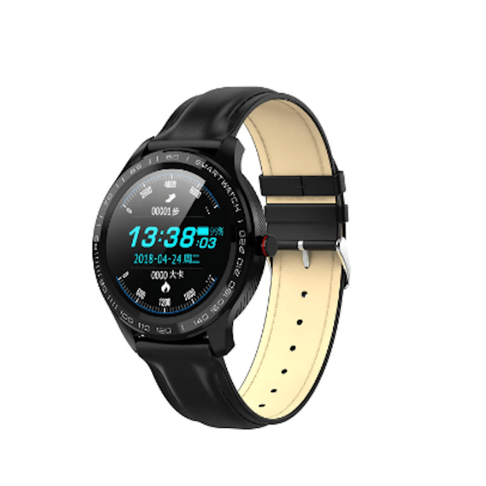 SMartelec  L9 Full RTS Bezel ECG HR O2 IP68 Facebook Business Smart Watch-Smart Devices & Accessories