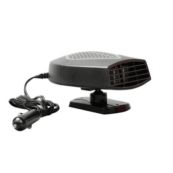 12V 150W Portable Car Heater or Fan, Fast Heating, Defroster, Defogger, Demister - LARNELEC