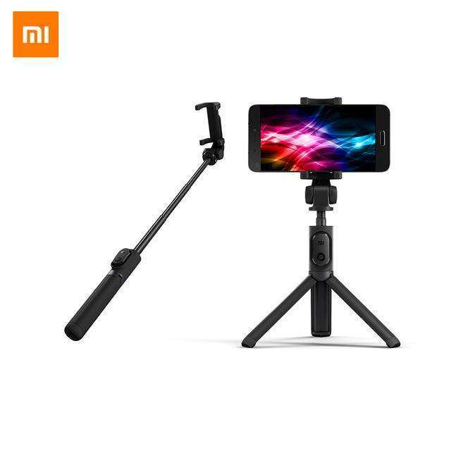 2 in 1 Bluetooth Mini Extendable Folding Tripod Selfie Stick For Mobile Phone-Selfie Stick