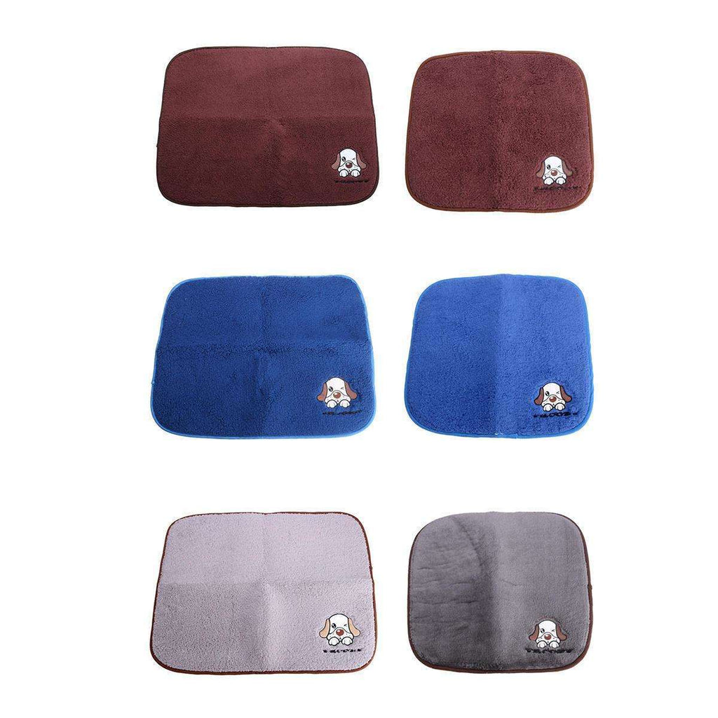 2 in 1 Dog Cat Pet Warm Sleeping Blanket And Cooling Bed Pad-Dog Mat